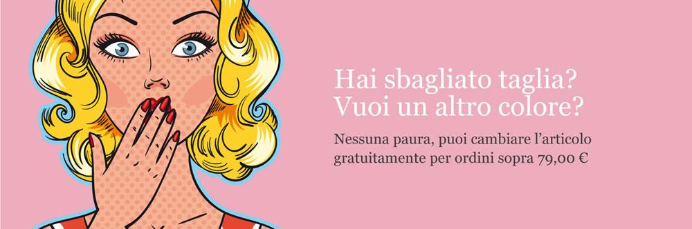 Cambi gratuiti con Nino & Lulù pet boutique