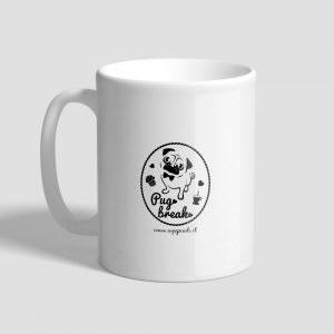 L'originale tazza con cane carlino delle Ugopiadi