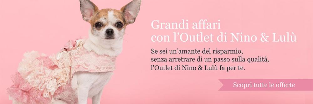 Outlet vestiti per cani Nino & Lulù