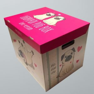 Ugopiadi Pug Box - Love version