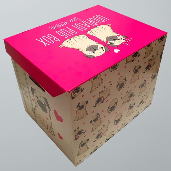 Ugopiadi Pug Box - Love version